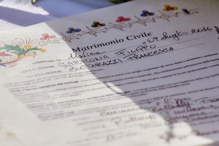 0 Matrimonio ad Ustica - Sofia Gangi - DOCUMENTO 50 50