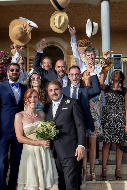 0 Matrimonio ad Ustica - Sofia Gangi - LANCIO CAPPELLI 50 50