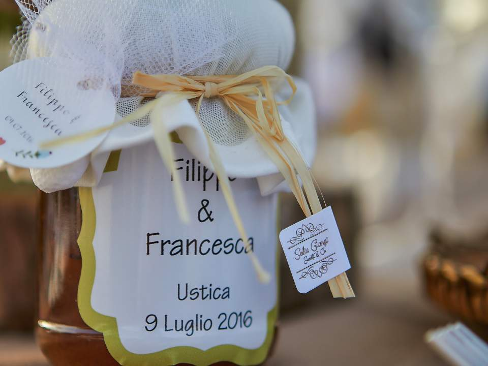 Matrimonio ad Ustica - Sofia Gangi - Bomboniera
