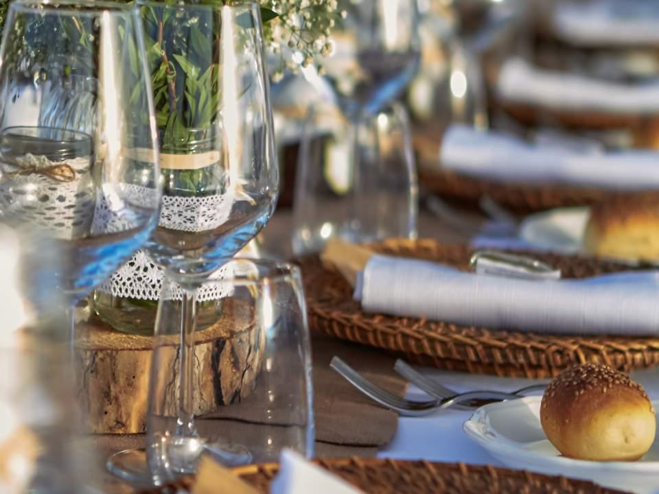 Matrimonio ad Ustica - Sofia Gangi - Tavoli