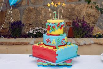 Primo compleanno di Marco 2016 Primo compleanno di Marco 2016 torta small
