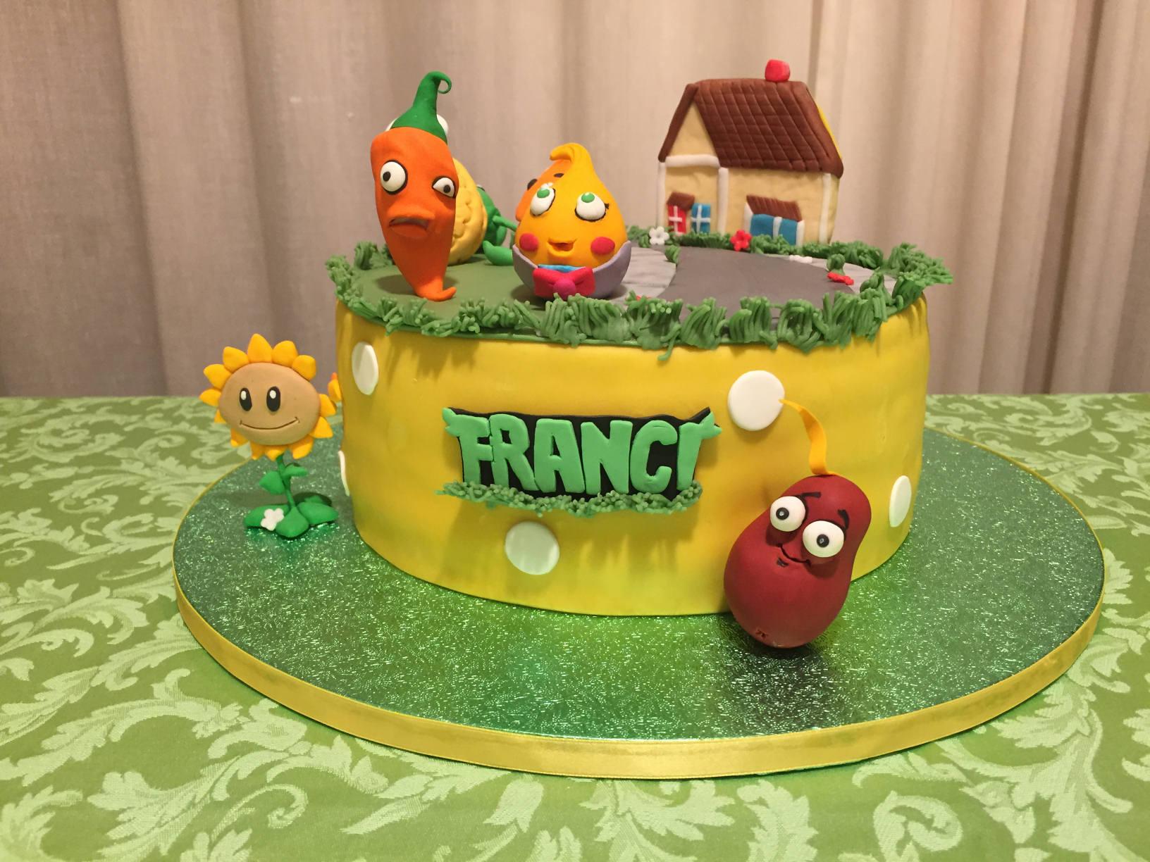compleanno-a-tema-piante-vs-zombie-torta
