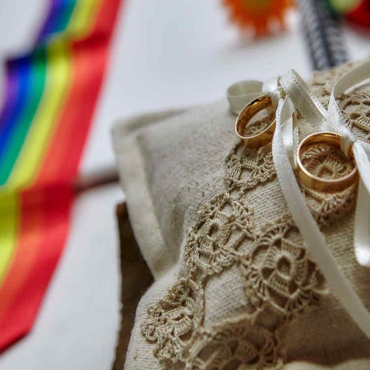 matrimonio arcobaleno sofia gangi eventi e co evidenza