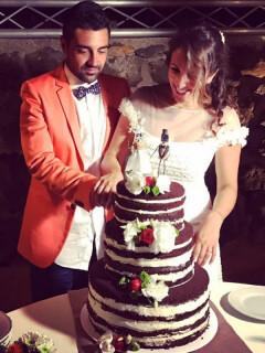 matrimonio usticese sofia gangi eventi Torta di nozze S