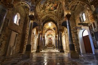 Matrimonio Chiesa Martorana Santa Maria dell'Ammiraglio Palermo Sofia Gangi Wedding Planner 2019 (4)_320x213